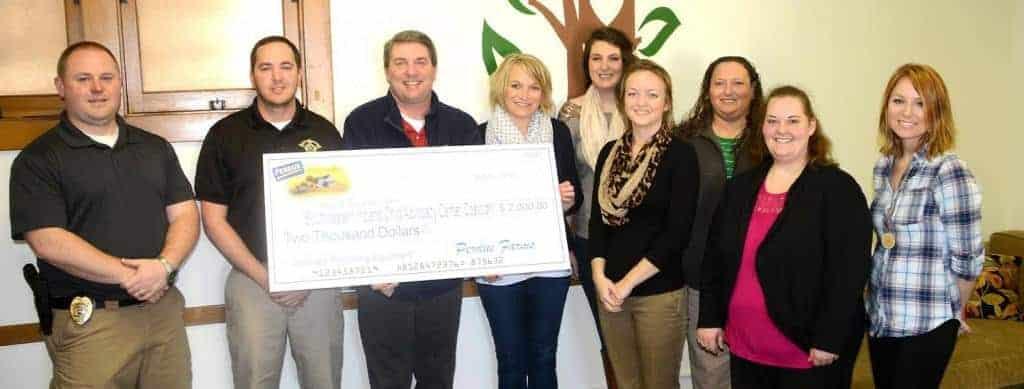Grant Reward for Daviess County